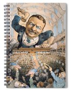 Presidential Campaign, 1904 Spiral Notebook