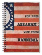 Presidential Campaign, Spiral Notebook