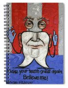 Presidential Tooth 2 Spiral Notebook