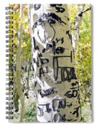 Presidential Tree Spiral Notebook