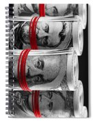 Presidents For Ransom Spiral Notebook