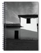 Presidio Shadows- Art By Linda Woods Spiral Notebook