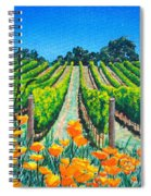 Presidio Vineyard Spiral Notebook