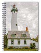 Presque Isle Lighthouse  - Lake Huron, Lower Peninsula, Mi Spiral Notebook