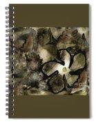 Pressed Flower Spiral Notebook