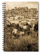 Pretoro - Landscape In Sepia Tones  Spiral Notebook