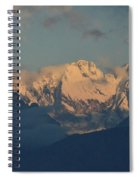 Pretty Countyside In Italy With Huge Mountains  Spiral Notebook