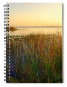 Pretty Evening At The Lake Spiral Notebook