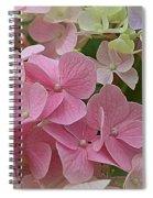 Pretty In Pink Hydrangeas Spiral Notebook