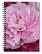 Pretty In Pink Peony Spiral Notebook