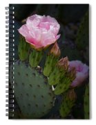 Pretty In Pink Prickly Pear  Spiral Notebook