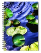 Pretty Lily Pads Spiral Notebook