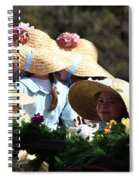 Pretty Little Flower Girls Spiral Notebook