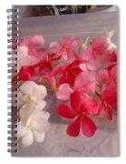 Pretty Little Flowers Spiral Notebook