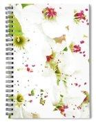 Pretty Pear Petals Spiral Notebook