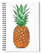 Pretty Pineapple II Spiral Notebook