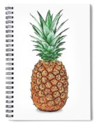 Pretty Pineapple Spiral Notebook