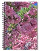Pretty Pink Blossoms Spiral Notebook