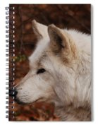 Pretty Profile Spiral Notebook