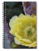 Prickly Blossom Spiral Notebook