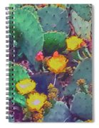 Prickly Pear Cactus 2 Spiral Notebook