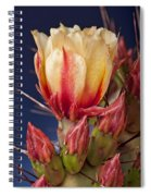 Prickly Pear Flower Spiral Notebook