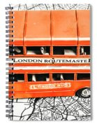 The Pride Of London Spiral Notebook