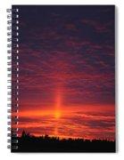 Pride Of The Prairie Sunset Spiral Notebook