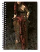 Priestess Of Delphi Spiral Notebook
