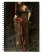 Priestess Of Delphi Spiral Notebook