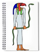 priestess of the Amon Spiral Notebook