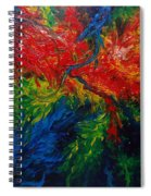 Primary Abstract II Spiral Notebook