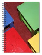 Primary Chairs Spiral Notebook