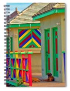 Primary Colors Spiral Notebook