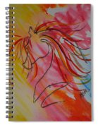 Primary Horse Spiral Notebook