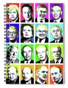 'prime Ministers Question Time X 16' Spiral Notebook