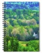 Primitive Baptist Church Of Cades Cove Spiral Notebook