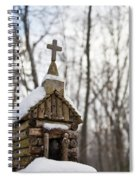 Primitive Church In The Mountains Spiral Notebook