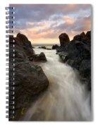 Primordial Tides Spiral Notebook