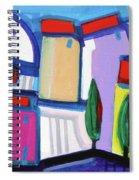 Primorski Pejsaz  12 Spiral Notebook