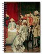 Prince Charles Edward Stuart In Edinburgh Spiral Notebook