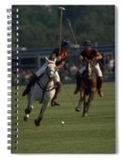 Prince Charles Playing Polo Spiral Notebook