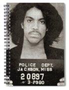 Prince Mug Shot Vertical Spiral Notebook