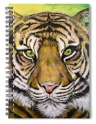 Prince Of The Jungle Spiral Notebook