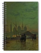 Prince's Dock Hull Spiral Notebook