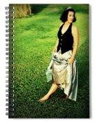 Princess Along The Grass Spiral Notebook