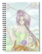 Princess Altiana Colour Spiral Notebook