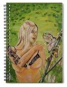 Princess And Frog Spiral Notebook
