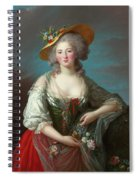 Princess Elisabeth Of France Spiral Notebook