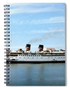 Princess Marguerite Spiral Notebook